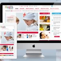 SmartAddons Joomla Template: SJ Health - Health & medical website template for Joomla