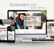 Joomla Templates: DD Business 110
