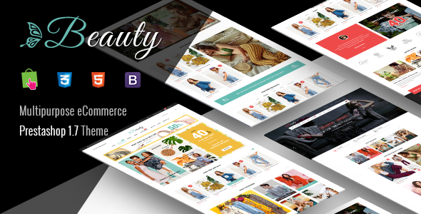 Prestashop Template: Beauty - Modern Responsive PrestaShop 1.7 Fashion Theme
