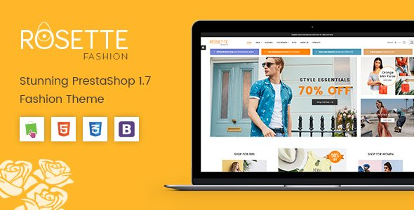 Prestashop Template: Rosette - Beauty Responsive PrestaShop 1.7 Fashion Theme