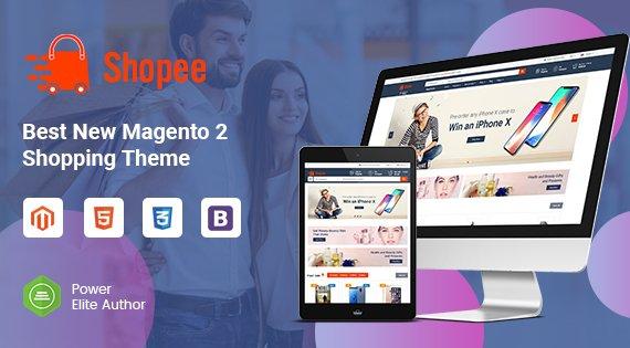 Magento Template: SM Shopee - Responsive Magento 2 Shopping Theme