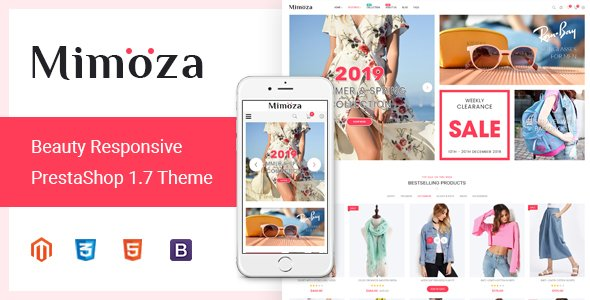 Magento Template: Mimoza - Best Fashion Responsive Magento 2 Theme