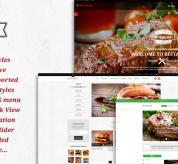 magentech Magento Template: SM Restaurant - Responsive Restaurant Theme for Magento