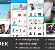 magentech Magento Template: SM Lavender - Responsive Multipurpose Theme Magento