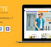 PrestaShop Themes: Rosette - Beauty Responsive PrestaShop 1.7 Fashion Theme