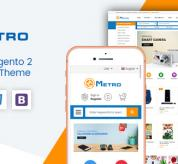 magentech Magento Template: Metro - Multipurpose Responsive Magento 2 MarketPlace Theme