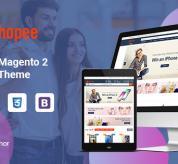 magentech Magento Template: SM Shopee - Responsive Magento 2 Shopping Theme
