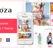 Magento Templates: Mimoza - Best Fashion Responsive Magento 2 Theme