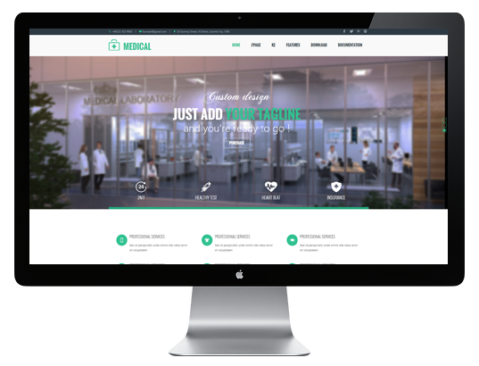 Joomla Template: AT Medical