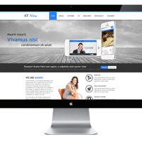 Joomla Templates: AT Nine - Responsive Joomla Template