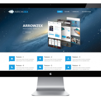 Joomla Free Template - AT Arrowzex - Responsive Joomla Template