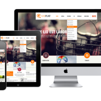 Joomla Free Template - AT Nine Flat - Responsive Joomla Template