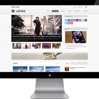 Joomla Free Template - AT Enews - Responsive Joomla Template