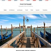 wpzoom Wordpress Theme: Photo Frame