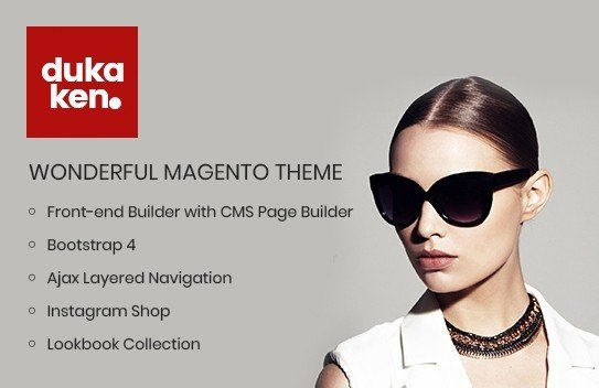 Magento Template: Dukaken - Wonderful Magento 2 Theme