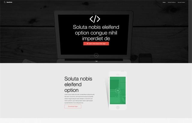 Joomla Template: OpenCircle