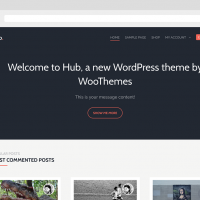 Wordpress Free Theme - Hub