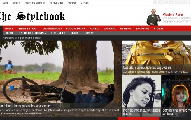 Wordpress Theme: Stylebook