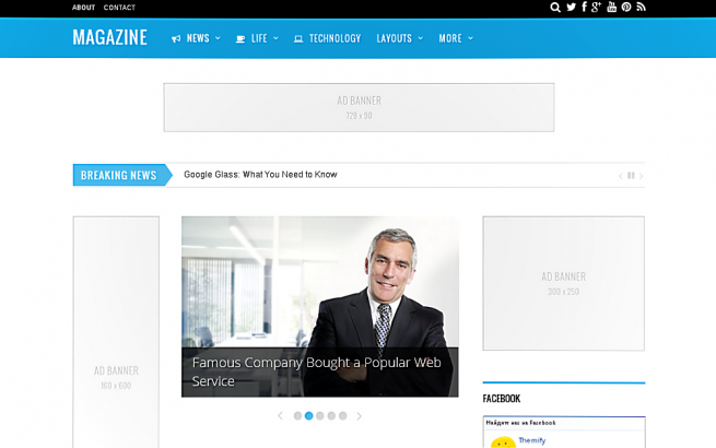 Wordpress Theme: Magazine