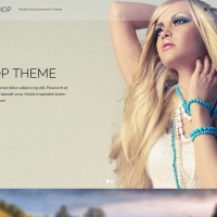 Wordpress Free Theme - Flatshop