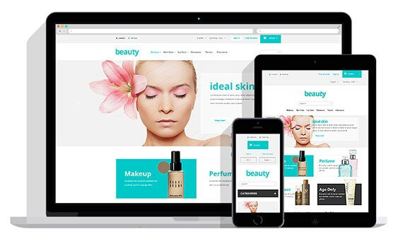 Prestashop Template: Beauty Store Free PrestaShop Theme