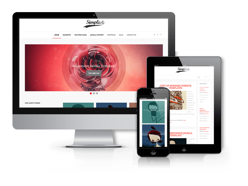 Wordpress Theme: Simplest - WordPress  Blog Theme