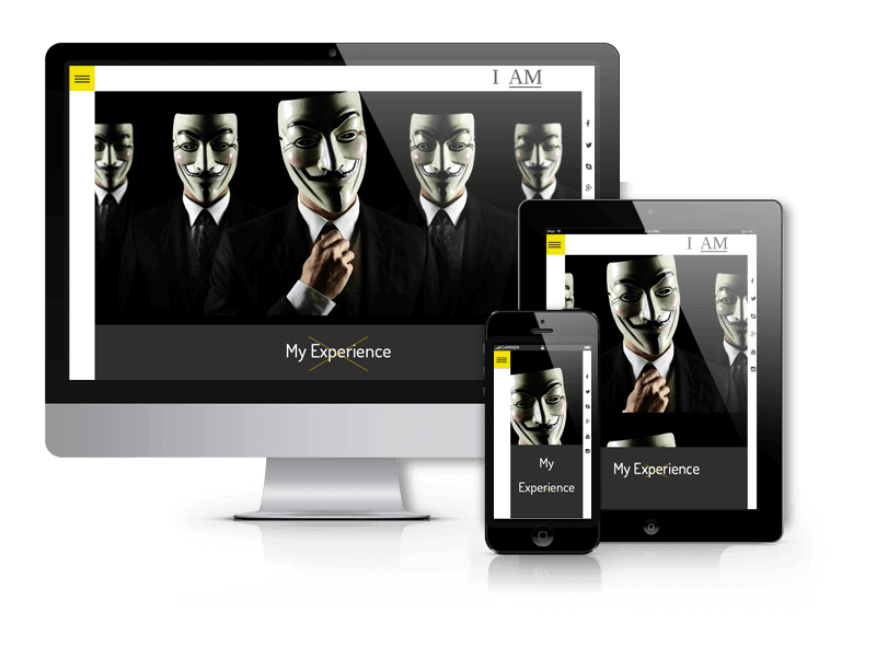 Wordpress Theme: I Am WordPress Resume Theme