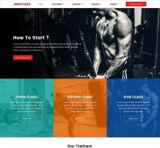 zyxel Joomla Template: JSN Power Template for fitness or ecommerce sites
