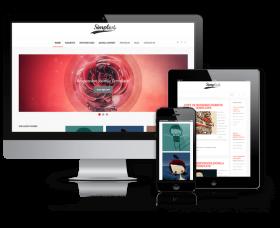 admin Wordpress Theme: Simplest - WordPress  Blog Theme