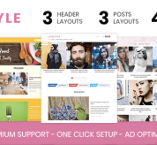 Wordpress Themes: Lifestyle – Elegant WordPress Theme