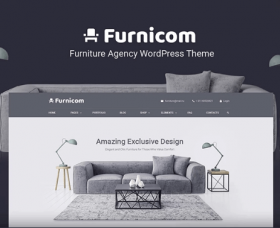 Wordpress Free Theme - Free Furnicom - Elementor Furniture Store