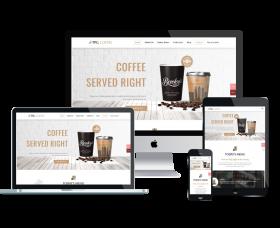 takewp Wordpress Theme: TPG Coffee – Best Free Responsive Beverage Website template