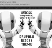ADD THEMES Drupal Theme: Drupal8 W3CSS Free Theme