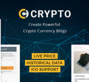 zyxel Wordpress Theme: Crypto – A Bitcoin & Cryptocurrency WordPress Theme