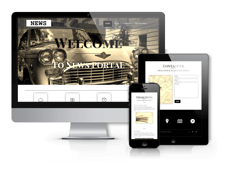 Wordpress Theme: News - WordPress News Theme