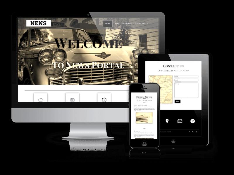 Wordpress Theme: News - WordPress News Theme