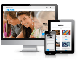 Wordpress Premium Theme - Erudite - WordPress  Education Theme