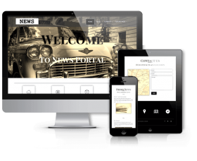 Wordpress Premium Theme - News - WordPress News Theme