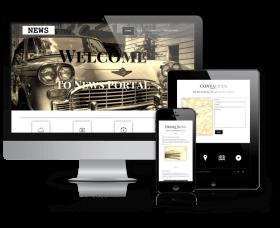 admin Wordpress Theme: News - WordPress News Theme