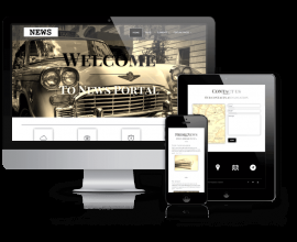 OrdaSoft Wordpress Theme: News - WordPress News Theme