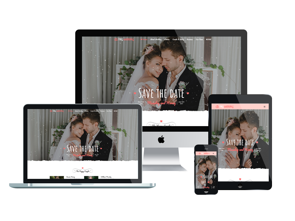 Wordpress Theme: TPG Wedding – Best Free Responsive Marriage WordPress Theme