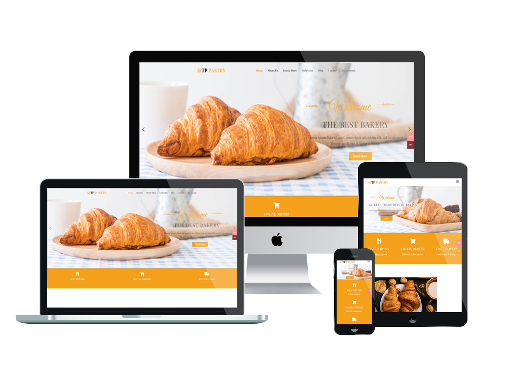 Wordpress Theme: TPG Pastry – Best Free Responsive Bakery wordpress theme