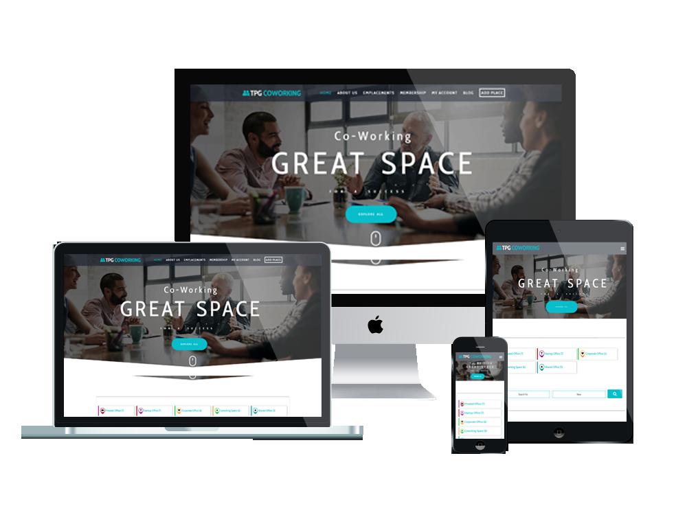 Wordpress Theme: TPG CoWorking – Free Coworking WordPress theme
