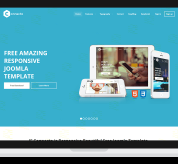 Joomla Free Template - JF Connecto