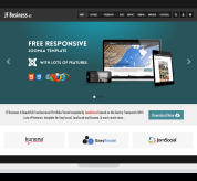 Joomla Free Template - JF Business