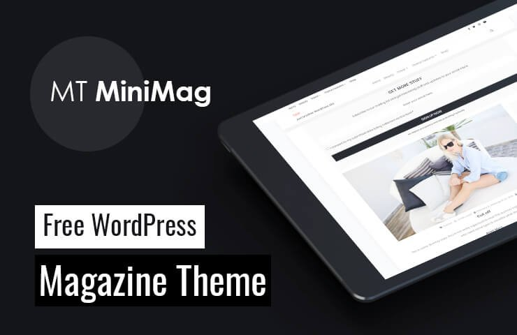 Wordpress Theme: MT MiniMag - Free WordPress Magazine Theme