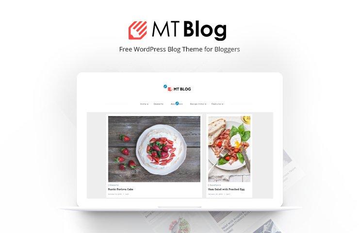 Wordpress Theme: MT Blog - Free WordPress Blog Theme for Bloggers