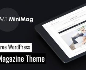 Wordpress Free Theme - MT MiniMag - Free WordPress Magazine Theme