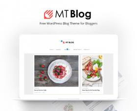 Wordpress Themes: MT Blog - Free WordPress Blog Theme for Bloggers