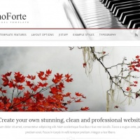 Joomla Free Template - PianoForte